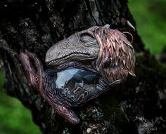 This necklace is part of my Dark Crystal inspired collection. He is handmade and he features a stick agate caboshon. Find him in the link at the top. Jewelry Shop, Handmade Jewelry, Jewelry Making, The Dark Crystal, Polymer Clay Art, The Conjuring, Crystal Jewelry, Agate, Mystic