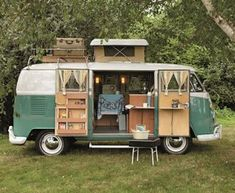 outfitted VW bus