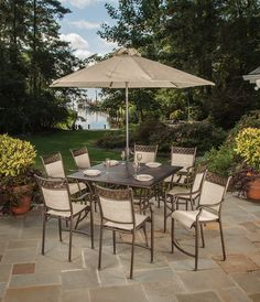 inglewood 7 piece patio dining set patio sets pinterest
