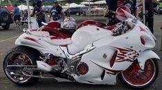 Custom Street Bikes, Custom Sport Bikes, Custom Motorcycles, Suzuki Motorcycle, Chopper Motorcycle, Biker Boys, Biker Girl, Custom Hayabusa, Crotch Rockets