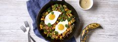 Chiquita recipes ¦ Discover our delicious, healthy and easy banana recipes. Be it breakfast or lunch, every recipe is filled with flavor and nutrition. Healthy Banana Recipes, Bacon Hash, Plantain Recipes, Food Hacks, Cooking Tips, Breakfast Recipes, Brunch, Eggs, Egg