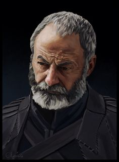 [NO SPOILERS] As a goodbye to GoT i painted my favourite character. Game Of Thrones Artwork, Game Of Thrones Books, Game Of Thrones Cast, Liam Cunningham, Show Runner, Superhero Shows, Game Of Thones, Faceless Men, The Cw Shows