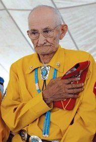 PASSING OF A CODE BREAKER    George Smith, a member of the famed Navajo Code Talkers, who used their rare and ancient language to outwit the Japanese during World War II, has died.    He died on Oct. 30 at the Gallup Indian Medical Center in New Mexico, said Navajo Nation president Ben Shelly. Smith was 90.    Photo: Navajo Code Talker George Smith (Paul Natonabah/Navajo Times)