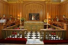 - Photo - Inside the Chapel Royal at St James's Palace where William and Kate will join the rest of the British royal family for Prince George's christening