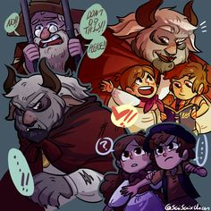 "artsycrapfromsai: "" so like, what about a platonic Beauty and the Beast AU with Stan as the Beast and Mabel and Dipper sharing the role of Belle???? (also, McGucket as Maurice, Ford, Soos and Wendy as the roles of Mrs. Potts, Lumiere, and Cogsworth,.."