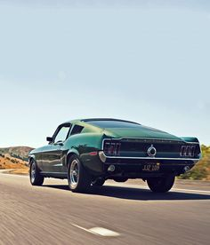 1968 Ford Mustang fastback. Someday... my first car was 69 mach 1, love mustangs