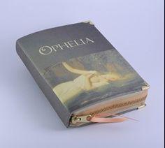 Ophelia (Hamlet) Book Clutch