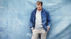 Male Fashion Trends: Alexander Skarsgård para The Journal de Mr. Porter por Bjorn Iooss