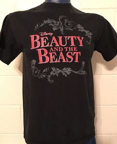 Unisex  DISNEY the Beauty and the Beast  t-shirt Medium M  | eBay