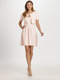 Christian Dior - textured knit - for a luncheon, daytime wedding,  I want this