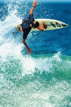 Kelly Slater in the early 90's