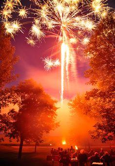 Fireworks!  photo by Patrick Kelley