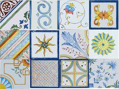 Коллекция изразцовой плитки ручной работы
