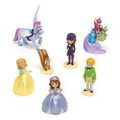 Ensemble de figurines Princesse Sofia  - marque : Disney Au moment de jouer, toutes les aventures sont possibles avec notre ensemble de figurines Princesse Sofia ! Il contient six figurines de Sofia et de ses amis, dont Ambre, James, Noi... prix : 17.00 EUR €  chez Disney Store #Disney #DisneyStore