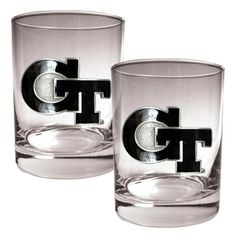 NCAA Georgia Tech Yellow Jackets 2pc Rocks Glass Set by Great American Products. $36.12. The perfect compliment to your Bar or Game Room decor.. High quality Team logo. High quality collectible design. A set of Officially Licensed Rocks Glasses decorated with hand-crafted metal Team Logos. The perfect compliment to your Bar or Game Room decor.