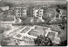 şişli cami temeli 1945