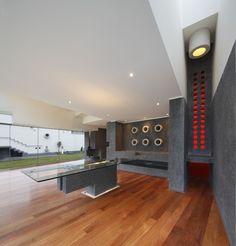 Contemporary Home Located in La Planicie, Lima, Peru. Loghi Architects.