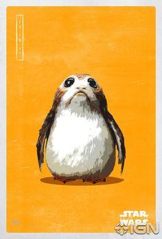 Star Wars: The Last Jedi – 9 New Pop Icon Images (Plus Porgs!)