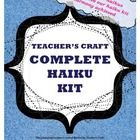 Everything you need to teach haikus!  Provides scaffolding with fill-in-the-blanks, fill-in-the-lines, and multiple choice activities.  Final asses...