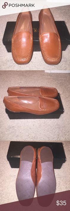 Ralph Lauren Brown Leather Loafers Size 9. New in box and never worn. Lauren Ralph Lauren Shoes Flats & Loafers