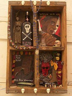 Hoodoo Magick Rootwork:  Voodoo Blues Box, Dalton Art.