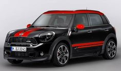 2013 Mini Countryman John Cooper Works most powerful yet.
