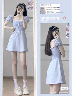 Korean Casual Outfits, Korean Outfit Street Styles, Korean Fashion Dress, Ulzzang Fashion, Kpop Fashion Outfits, Girls Fashion Clothes, Mode Outfits, Stylish Outfits, Grunge Outfits