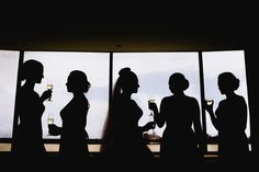 Samantha + the girls. Wedding photography by iZO Photography Wedding Photography, Silhouette, Weddings, Girls, Wedding Shot, Toddler Girls, Daughters, Wedding, Maids