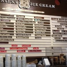Photo of Swensen's Ice Cream - San Francisco, CA, United States. Menu 2 As of 8/20/16
