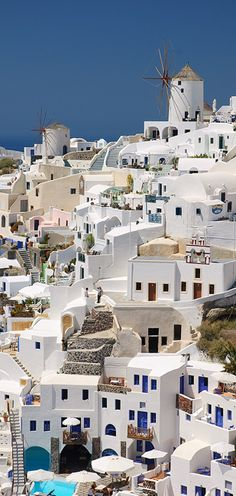Santorini's Architecture, Greece