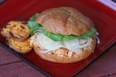 What's Cookin' with Mary?: Buffalo Chicken Sandwiches