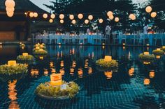La Joya, Villa & Bungalows: Poolside Wedding Reception
