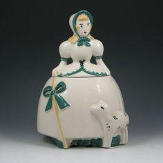 Abingdon Little Bo Peep cookie jar
