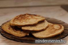 Zablepény Baking Recipes, Healthy Snacks, Pancakes, Paleo, Low Carb, Cookies, Breakfast, Cukor, Minden