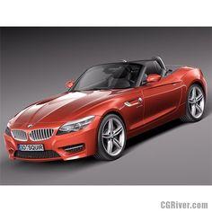 BMW Z4 2014 - 3D Model