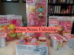 Giant Num Noms Unboxing - Blind Boxes, Sundae Sampler, Five Packs & Spec...