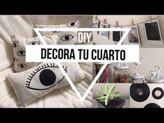DIY Decoracion para tu cuarto (Tumblr/Urban Oufitters/Pinterest) - YouTube