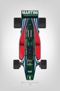 Outline Series Mario Andretti, Lotus 1980 Art Print by Ricardo Santos Top Gear, Grand Prix, Auto Illustration, F1 Lotus, Ferrari, Mario Andretti, Martini Racing, Formula 1 Car, Indy Cars