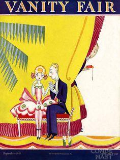 Vanity Fair cover. 1923.