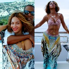Camilla Round Neck Kaftan spotted on Beyoncé