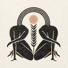 Great illustration for feminine logo design and female centered health and lifestyle business. Kunst Inspo, Art Inspo, Foto Logo, Photographie Portrait Inspiration, Wow Art, Soul Sisters, Sisters Art, Linocut Prints, Grafik Design