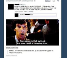 I find this post both amazing and depressing. Best response ever, however the original post is so dumb.