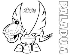 mixel coloring pages - mixel coloring page my little corner lego mixels