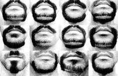 """""""Alphabeard"""": Ontwerper Michael Allen scheert een lettertype van zijn gezicht - beard font"""