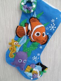 Finding Nemo Completed Handmade Felt by GrandmasStitchings on Etsy, $70.00