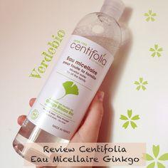 #Review Centifolia Acqua Micellare con Ginkgo Biloba BIO | È verde? - App sui Cosmetici BIO
