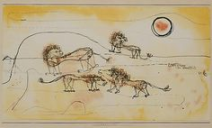 Klee: A Pride of Lions (Take Note!)