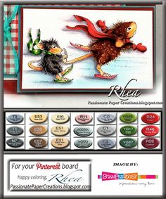 Passionate Paper Creations: Hold On Tight, #Stampendous and @House-Mouse Designs®
