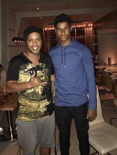 Marcus Rashford & Ronaldinho