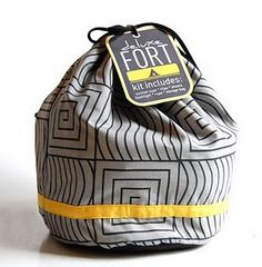 Fort kit. Best idea ever, @Emily Meredith! Everyone I know may have to get one of these.
